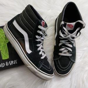 Worn Van's Hi Top Sneakers